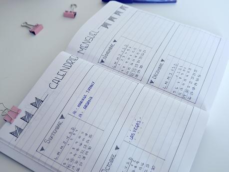 conseils pour commencer son bullet journal paperblog. Black Bedroom Furniture Sets. Home Design Ideas