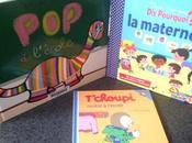 Trois livres maternelle