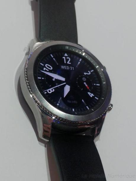ifa 2016 samsung d voile sa nouvelle montre connect e la gear s3 lire. Black Bedroom Furniture Sets. Home Design Ideas