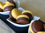 Macarons chocolat lait fruit passion