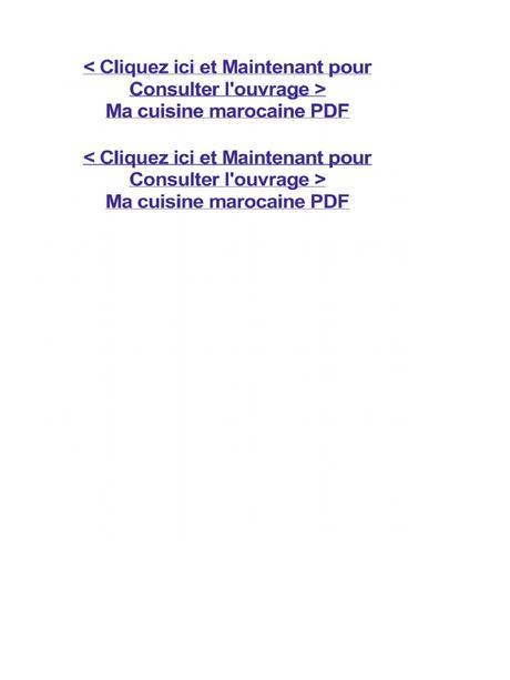 Cuisine juive marocaine pdf paperblog for Cuisine juive marocaine