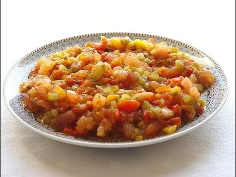 Cuisine marocaine salade mechouia paperblog for Cuisine juive marocaine