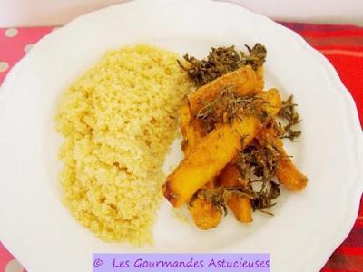 Carottes jaunes avec leurs fanes r ties au four vegan - Cuisiner fanes de carottes ...