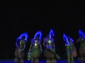 """Musée Confluences vidéo performance d'Alick Tipoti """"Zugubal Dancers"""""""