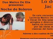 Reprise Noche Boleros chez Jacqueline Sigaut l'affiche]