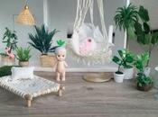 Tiny Bungalow maison poupée déco boho