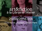 art&fiction librairie L'Atelier jeudi septemb...