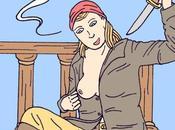 Mary Read, célèbre femme pirate