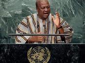 Président Ghana John Mahama l'ONU l'équité pour commercer avec monde