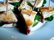 Club sandwich dinde cresson
