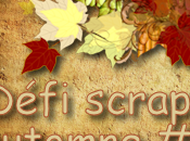 Défi scrap automne