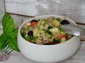 Salade d'été crozets