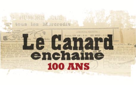 Cette année nous fêtons les 100 ans du palmipède le plus célèbre de France : le Canard Enchaîné.