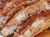 Côtes levées sauce barbecue maison
