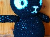 Chat noir crochet