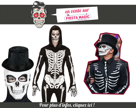 d guisement d a de los muertos homme paperblog. Black Bedroom Furniture Sets. Home Design Ideas