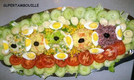 cuisine marocaine salade variee - paperblog