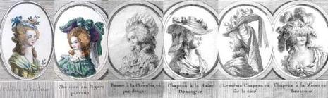 Coiffures du 18eme siècle.