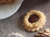 Assortiment biscuits sablés avec même pâte