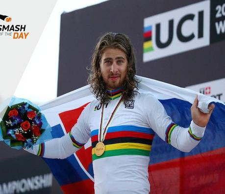 Sagan, le maillot arc-en-ciel lui va si bien