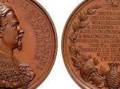 Médaille l'effigie Louis Bavière frappée l'occasion 300ème anniversaire l'Université Würzburg