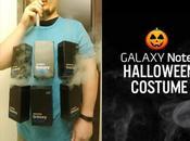 déguisement d'Halloween avec Galaxy Note