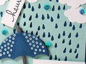 pleut Carte scrap #642