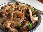 Boeuf caramélisé sauce soja