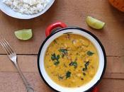 Curry potiron lait coco