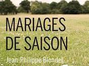 Mariages saison
