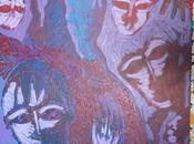 version2 Angoisses- Acrylique toile Senaq Version2: Angoisses-Acrylique canvas