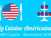 Défi Cuisine Américaine (Novembre 2016)