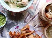 tans poulet mode sino-mauricienne soupe, vapeur frits, c'est régal