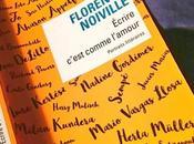 Écrire c'est comme l'amour Florence Noiville