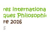 novembre 2016 rencontres internationales Nouvelles Pratiques Philosophiques