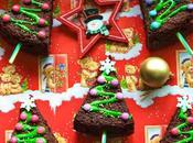 Brownies sapin Noël faire avec enfants