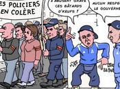 manifs policiers