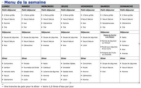 Bekannt Idée menu régime - Cuisinez pour maigrir KA44