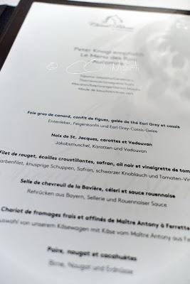 Second passage chez Peter Knogl au  Cheval Blanc !