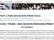 "559_ Plume francophone ""L'Arabe chez Camus"""