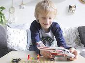 Freaky Family Aime L'Avion secours Lego City concours