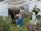 école l'on apprend jardinage plus maths français Caminando