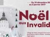 Noël Invalides décembre janvier animations visites marché