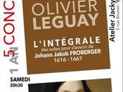 Samedi décembre L'intégrale suites pour clavecin Froberger Olivier Leguay Oyonnax