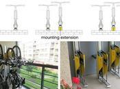 manière simple ranger vélo verticale sans fatiguer