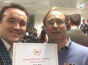 Orange Developer Challenge, équipe termine deuxième position