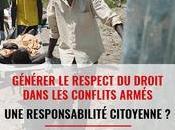 Prochain débat CICR respect droit dans conflits armés