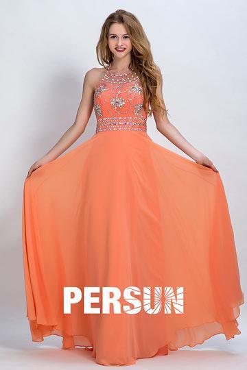 robe orange demoiselle d honneur accrocheur pour hiver voir. Black Bedroom Furniture Sets. Home Design Ideas