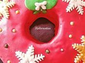 Gâteau couronne Noël