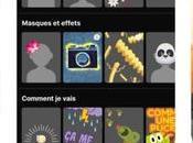 Facebook Messenger ajoutez masques, stickers filtres photos vidéos